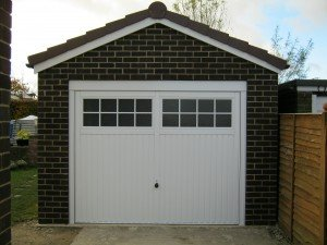 Hormann Ilkley Up and Over in White By ABi Garage Doors