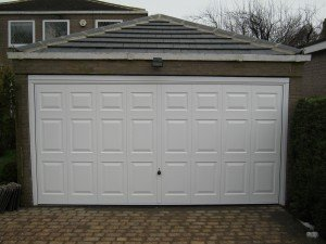Hormann Georgian Up and Over in White By ABi Garage Doors