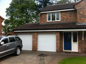 Hormann L-Ribbed Sectional in White By ABi Garage Doors