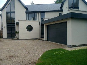 Hormann M-Ribbed Sectional in Anthracite Grey By ABi Garage Doors