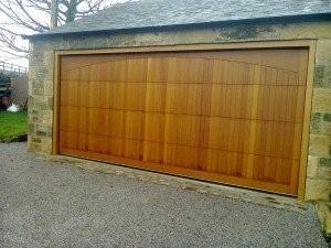 Cedar Door Company Bespoke Design Sectional Timber Garage Door By ABi Garage Doors