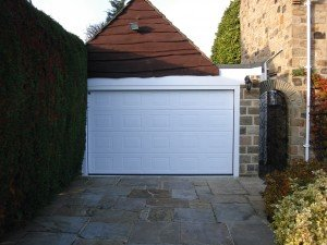 Hormann S-Panel Sectional in Woodgrain By ABi Garage Doors
