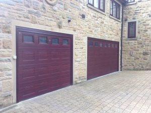Hormann S Panel Sectional Garage Doors in Rosewood By ABi