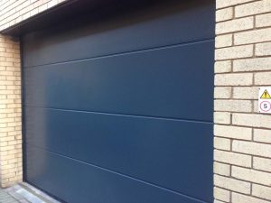 Hormann L Rib Sectional Door installed at BBC Leeds By ABi