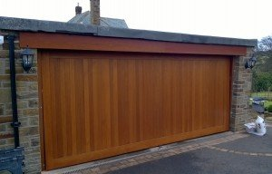 Cedar Door Company Up and Over Bakewell Design Timber Garage Door By ABi