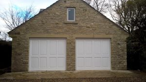 Cedar Made to Measure Up and Over Garage Doors By ABi