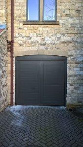 Cedar Bespoke Design Up and Over Door By ABi