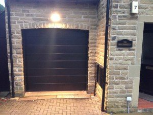 Hormann M Ribbed Sectional Garage Door By ABi