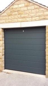 Hormann M Rib LPU40 Sectional Garage Door By ABi