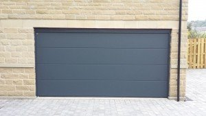 Hormann LPU40 L Ribbed Sectional Door By ABi