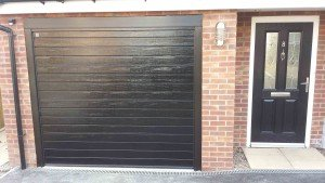 Hormann S Ribbed Insulated Sectional Garage Door By ABi
