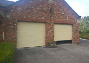 Hormann Sectional Garage Doors Light Ivory By ABi