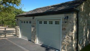 Hormann S Panel Sectional Garage Door with Glazing By ABi