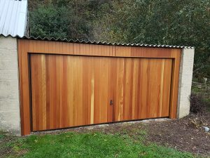 Hormann Horizontal Timber Retractable Up and Over By ABi