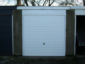 Hormann Horiztonal Up and Over in White By ABi Garage Doors