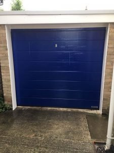 Hormann Sectional M Ribbed in Marine Blue By ABi