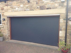 Hormann RollMatic Made to Measure Insulated Roller Door in Anthracite Grey By ABi Garage Doors