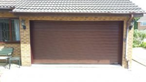 Hormann RollMatic in Rosewood Decopaint By ABi