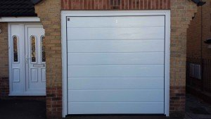 Hormann M Ribbed Insulated Sectional Garage Door - ABi