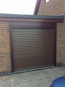 SWS SeceuroGlide Manual Roller Door