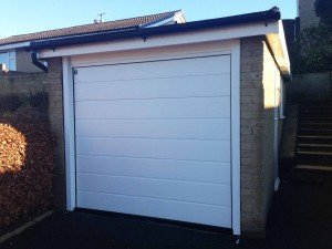 Hormann M Rib Insulated Sectional Garage Door By ABi