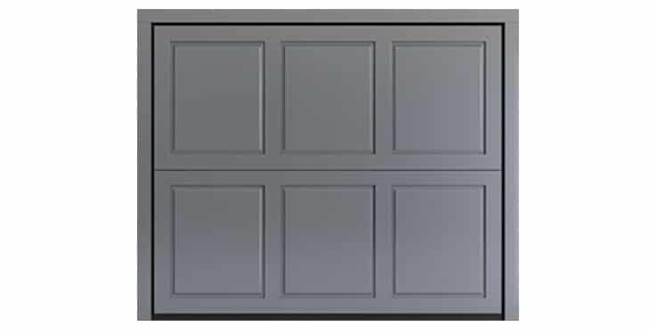 BOX Design in Laquered Okoumé RAL 7040 Window Grey