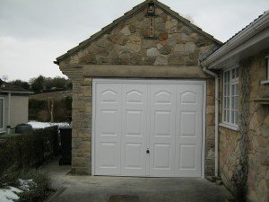 Hormann Marquess Up and Over in White By ABi Garage Doors
