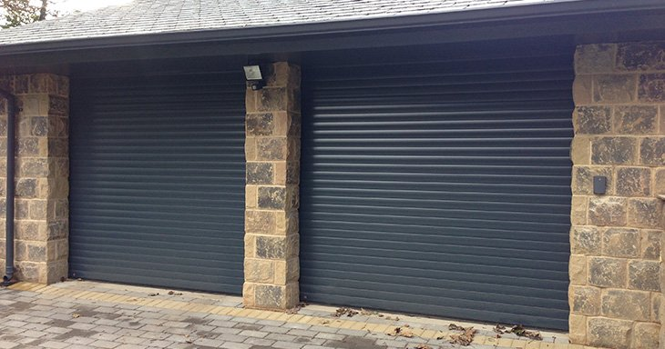 Manor House Developments commission ABi Garage Doors to install Hormann RollMatic automatic aluminium roller doors in Leeds