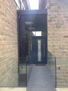 Hormann Thermo Pro Entrance Door TPS700 in Anthracite Grey by ABi
