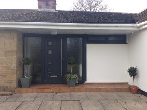Solidor Milano in Anthracite By ABi Garage Doors