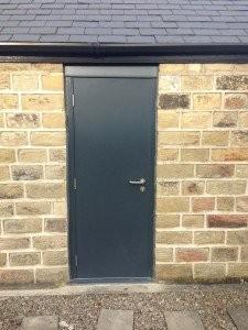 Strongdor High Security Garage Side Door By ABi