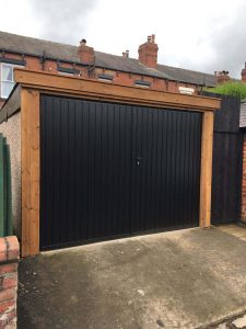 Select Made to Measure Side Hinged Garage Door By ABi