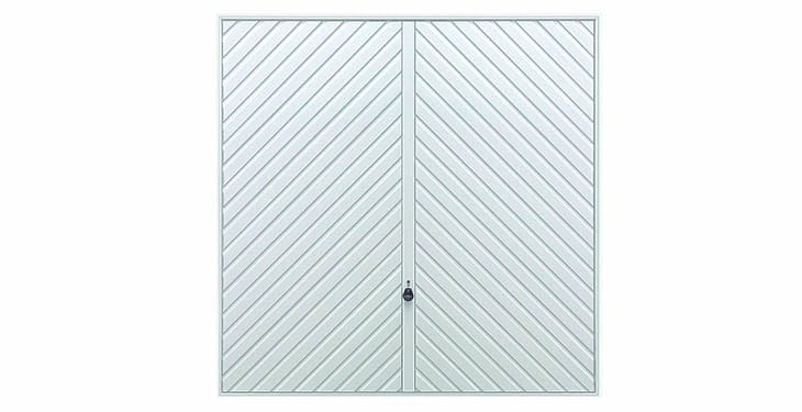 Hormann Steel Series 2003 Chevron Up and Over Garage Doors