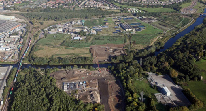 Plans for a 47-acre waterside business park submitted to Wakefield council