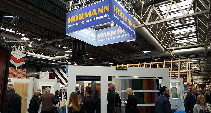 New Hörmann products unveiled at the National Homebuilding Show