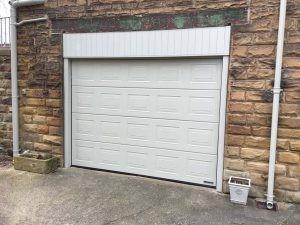 Hormann S Panel Sectional Garage Door in Pebble Grey By ABi