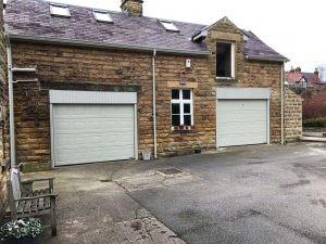 Hormann S Panel Sectional Garage Doors in Pebble Grey By ABi