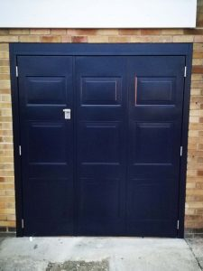 Select Side Hinged Garage Door in Bowdon Design By ABi