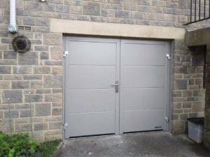 Hormann NT60 Double Leaf Side Doors By ABi