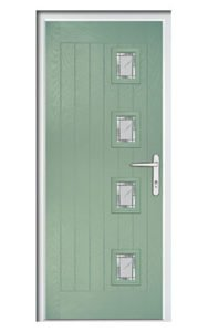 Style TR1B ThermoComp Composite Front Door