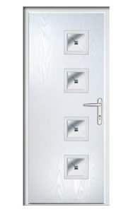 Style TR1C ThermoComp Composite Front Door
