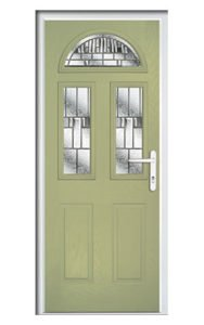 Style TR1F ThermoComp Composite Front Door
