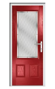 Style TR1G ThermoComp Composite Front Door