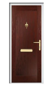 Style TR1H ThermoComp Composite Front Door