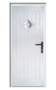 Style TR1L ThermoComp Composite Front Door