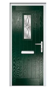 Style TR1M ThermoComp Composite Front Door