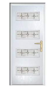 Style TR76 ThermoComp Composite Front Door