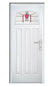 Style TR94 ThermoComp Composite Front Door