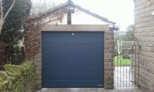 Hormann M Ribbed Sectional Anthracite Grey By ABi