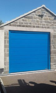Insulated M-Ribbed Design Sectional Door By ABi
